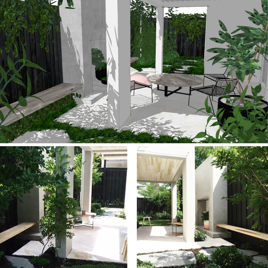 SketchUp Versus Real Life | Slightly Garden Obsessed