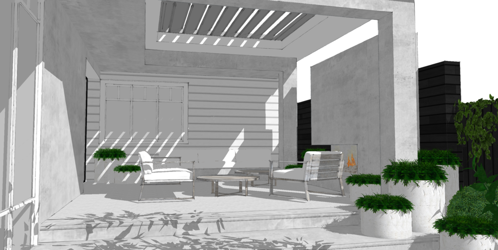 Monochrome Exterior Renovation 01