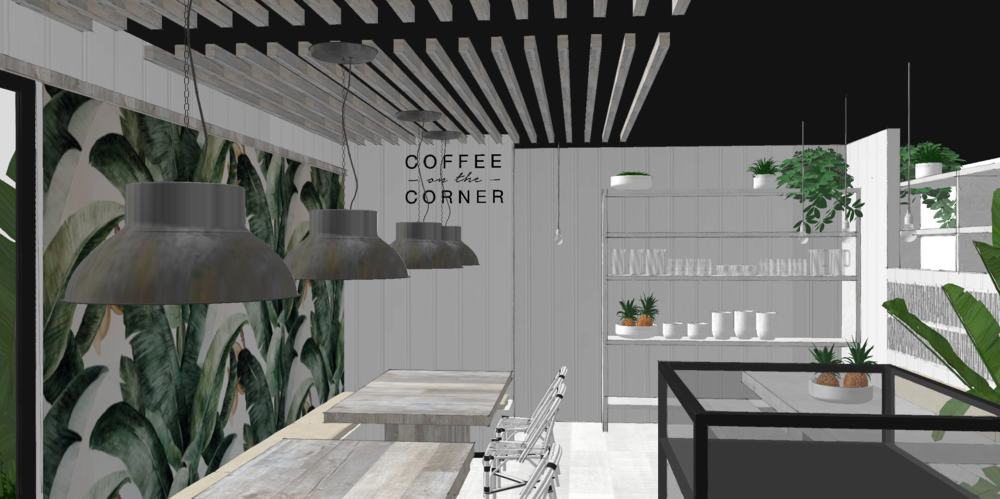 Coffee on the Corner | Green Love Co.