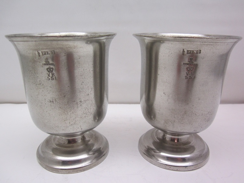 Half Pint 19th c Goblets Item #62