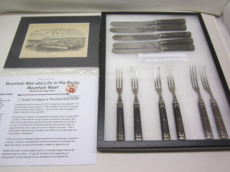 J. Russell Inlaid Cutlery  Item #10-353