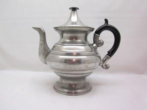 signed lewis teapot item #40