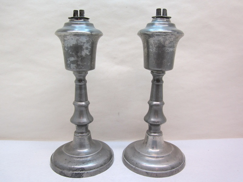 tall pair of gleason lamps item #7-581