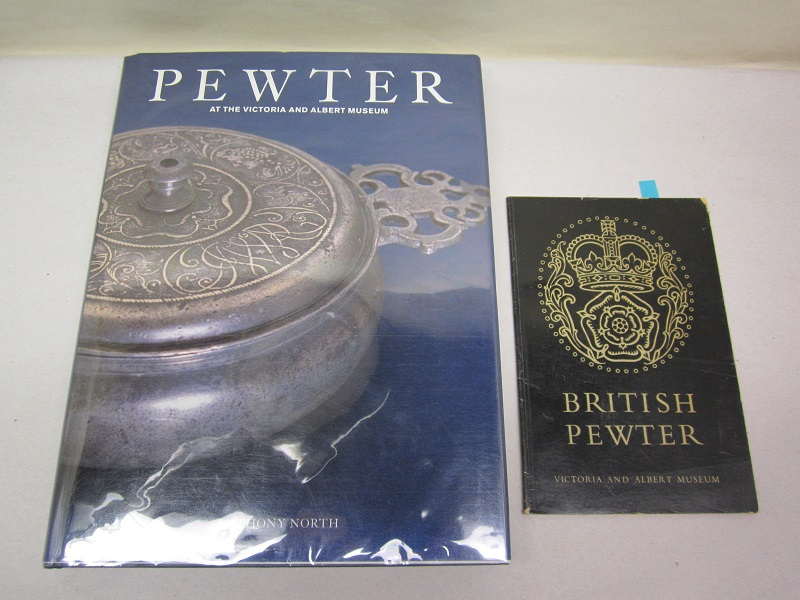 """pewter at the victoria and albert museum""  item #books-590"