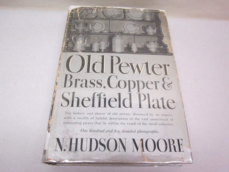 """old pewter, brass, copper and sheffield plate""  item #books-595"