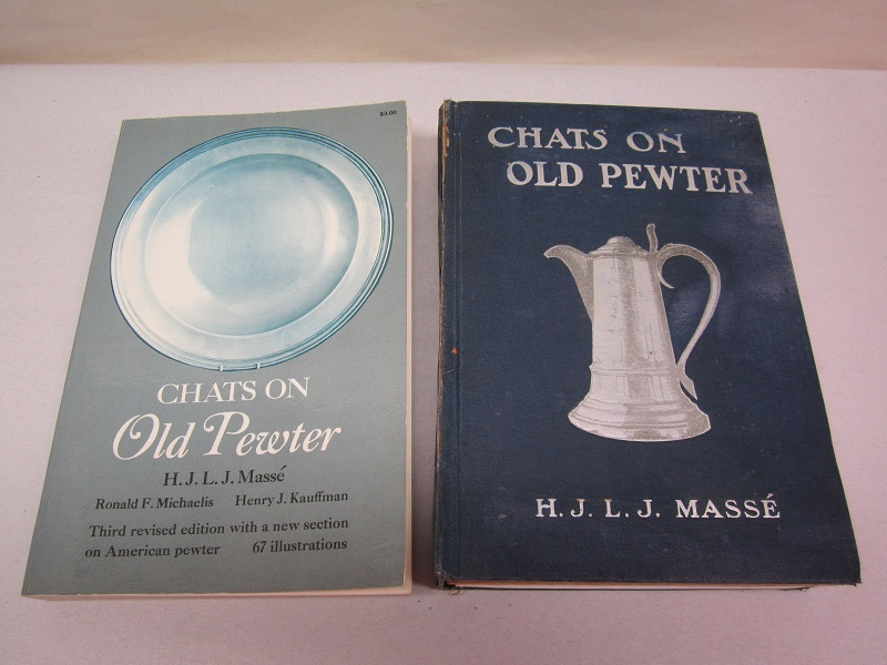 """chats on old pewter""  Item #Books- 612"