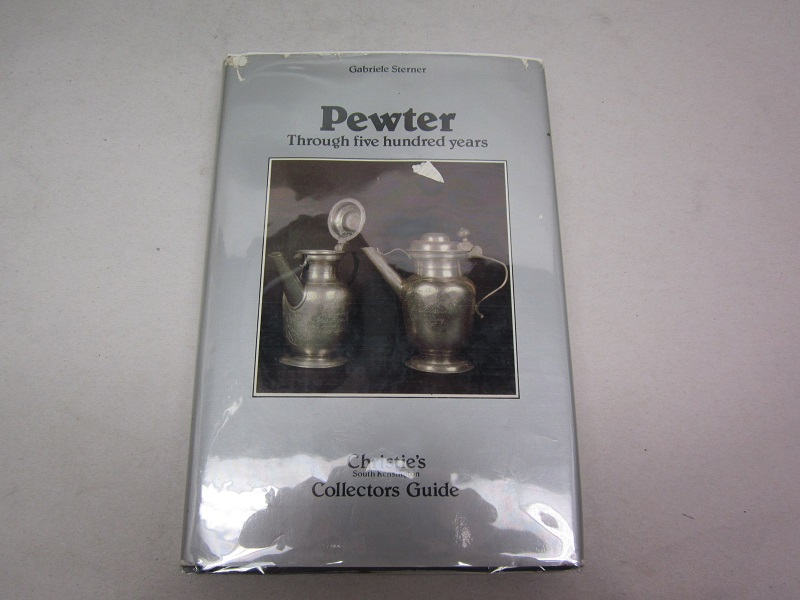 """pewter through five hundred years""  item #books-649"