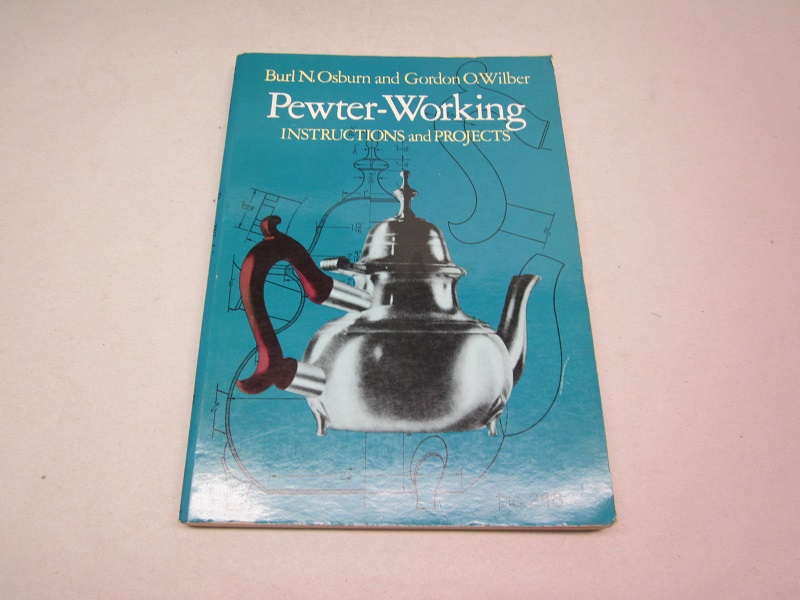 """pewter working- instructions and projects""  item #books-653"