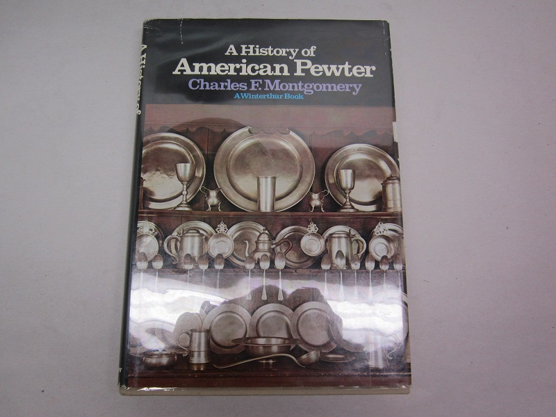 """a history of american pewter""  item #books-656"