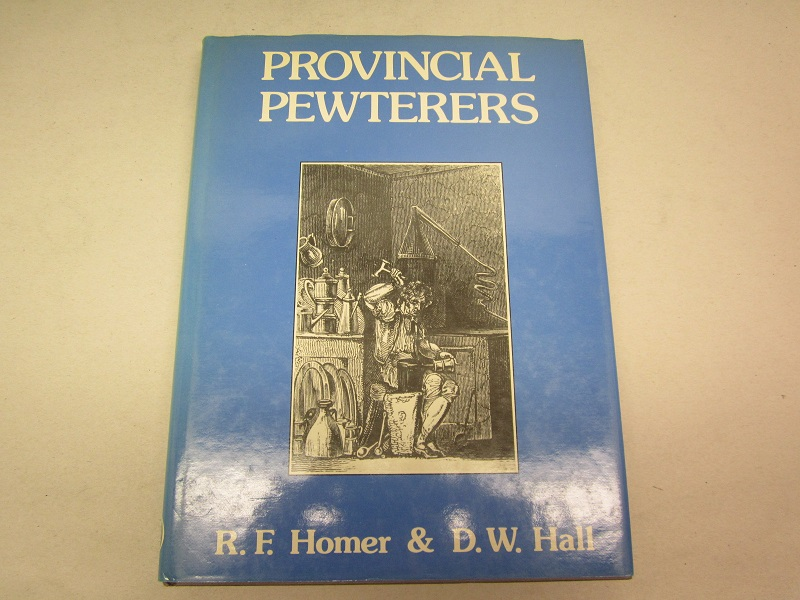 """provincial pewterers""  item #books-658"