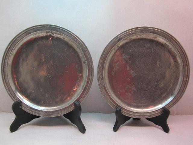 narrow rim 1670 plates  item #4-685