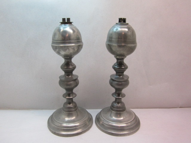 tall gleason whale oil lamps item #br-704