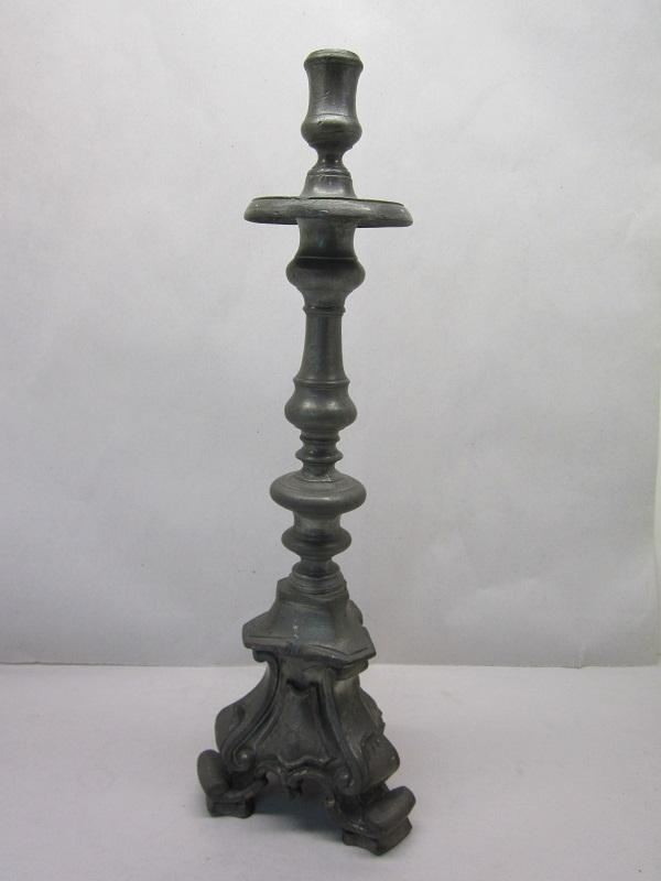 """18"""" portuguese 1750 candleholders item #9-640"""