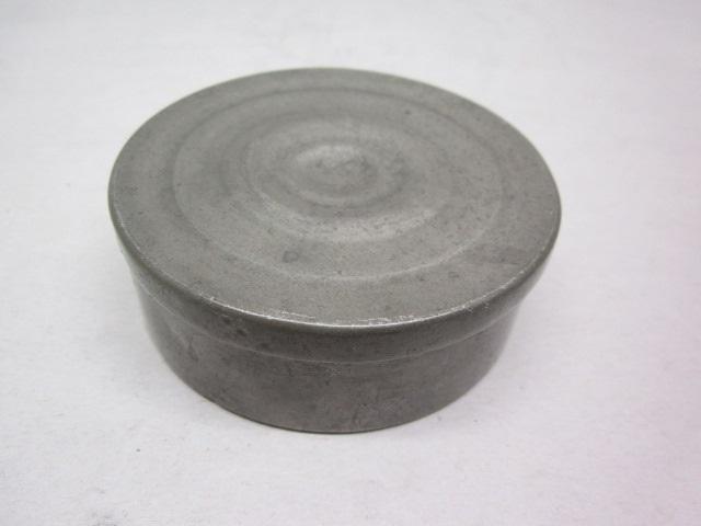 "3 1/4"" round circa 1840 box  item #10-745"
