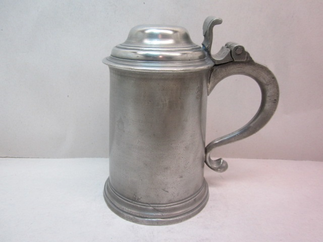 fasson 18th c export tankard  item #3-790