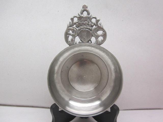 18th c robert bush porringer item #1-880