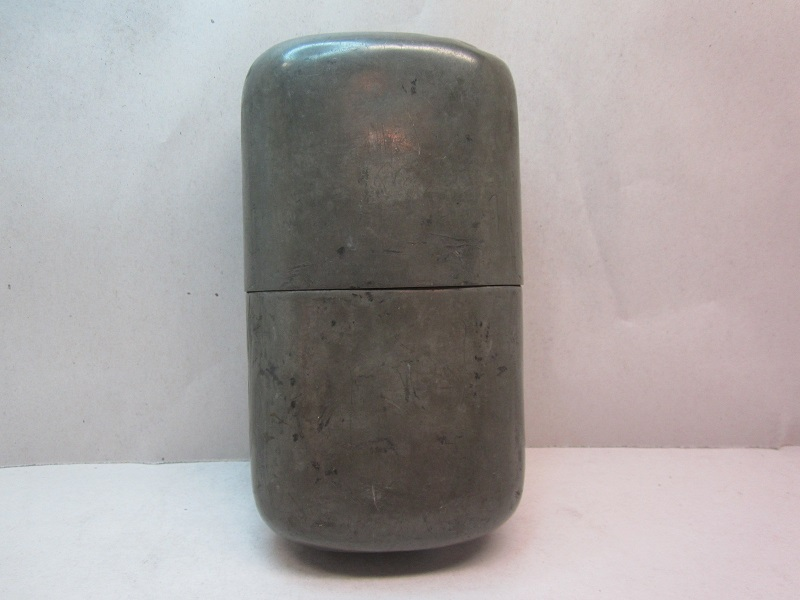 large whiskey flask  item #5-664