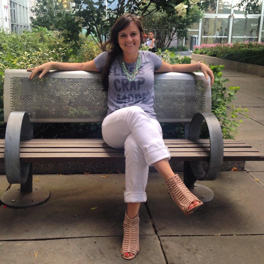 Day 4: Paige Denim white jeans, Dolce Vita heels, David Yurman bracelet & ring, Nordstrom necklace