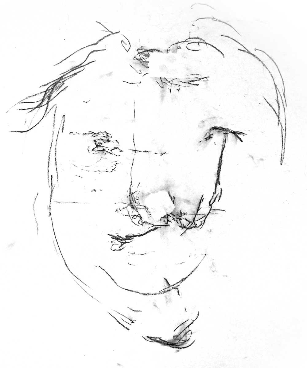 """Introspection/Blind Self-Portrait"""
