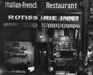 Original Rotisserie Inn, Italian-French Restaurant. (Utah Stories)