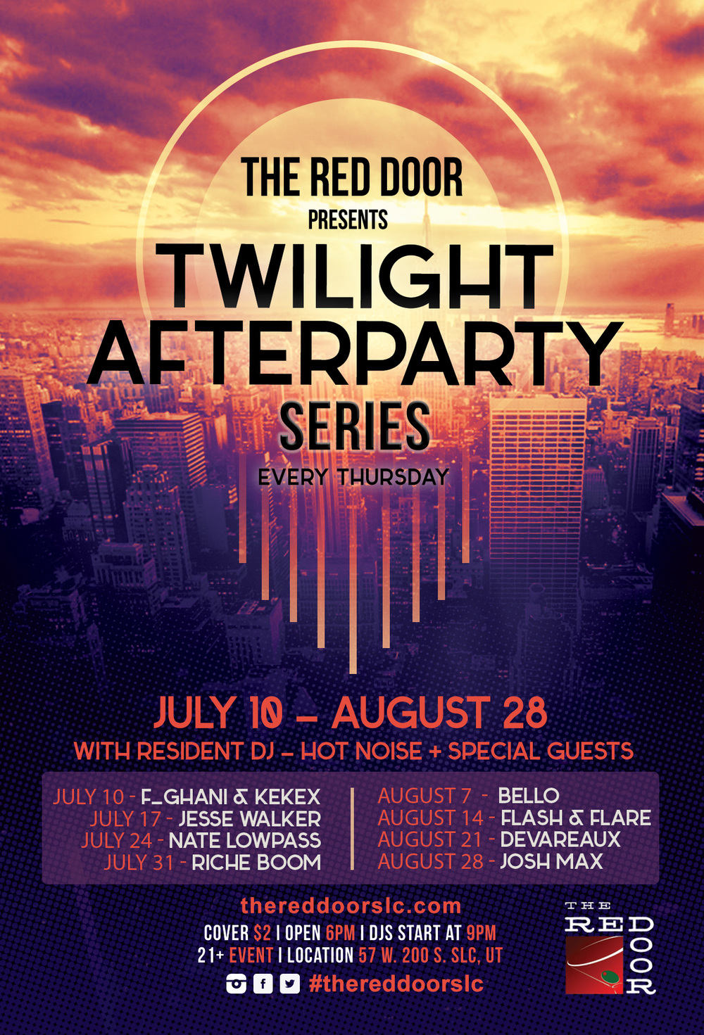 Red Door Twilight Afterparty Series