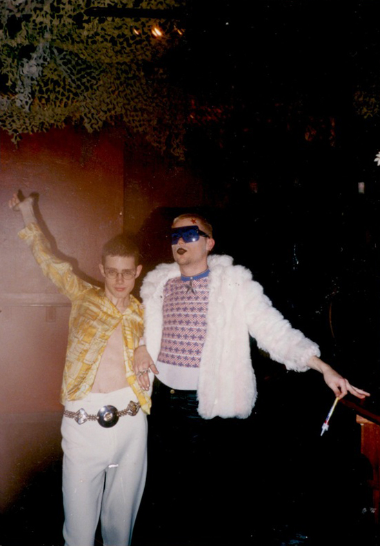 Jesse & Jared, circa 1995