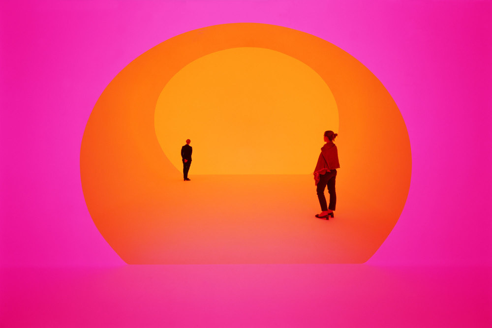 Akhob by James Turrell in W. Magazine