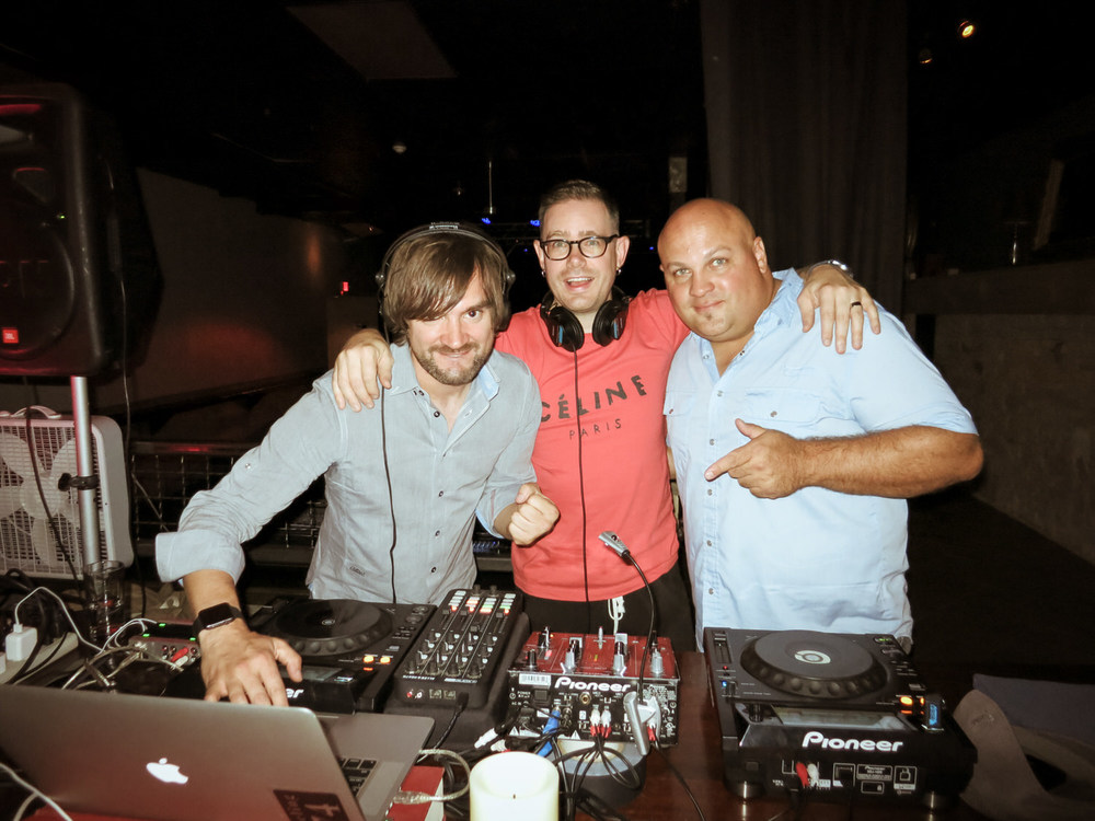 DJ Damian Ardenne, Jesse Walker & Johnny Peppinger