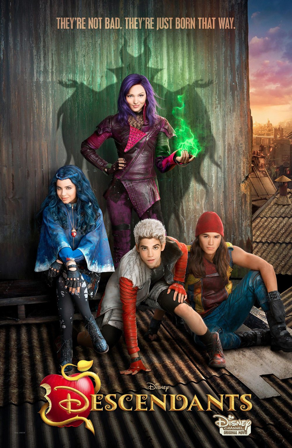 disney's descendants poster