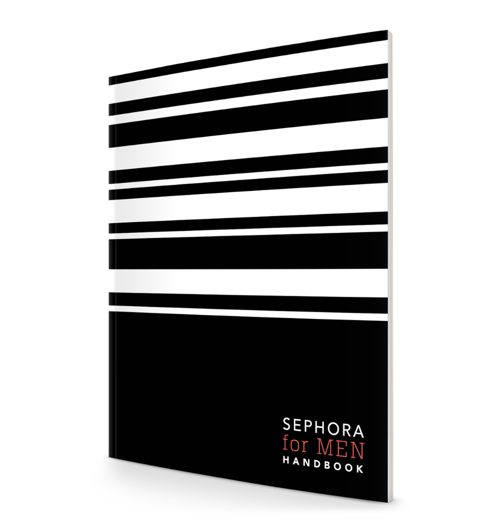 Sephora for Men Handbook Cover
