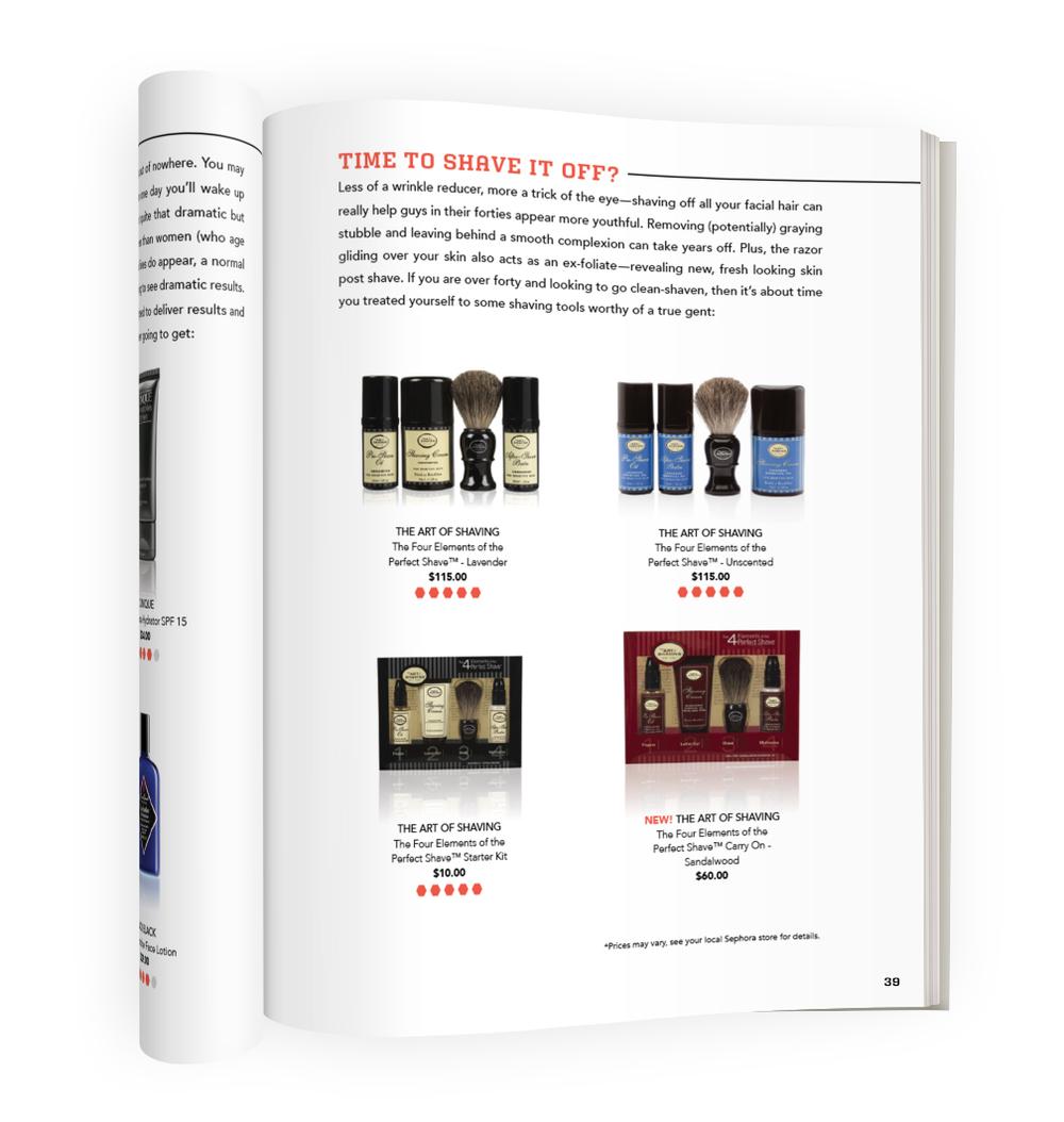 Sephora for Men Handbook Page 39