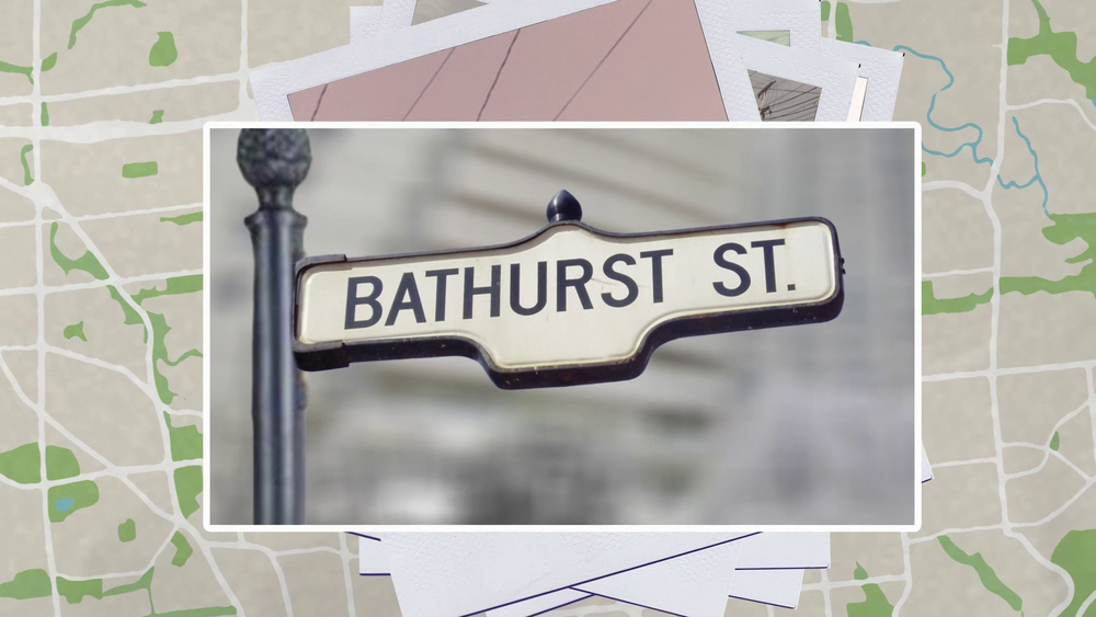 JCC TV Series Bathurst Street Sign Snapshot