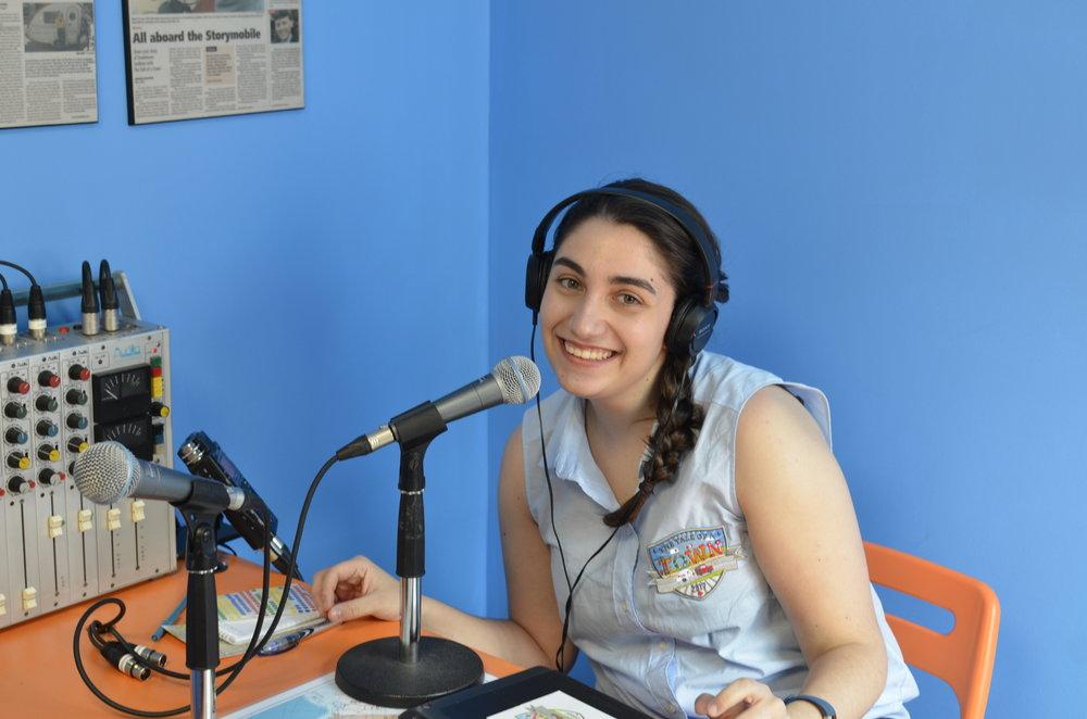 Caterina Florindi - TOAT Storygathering Interviewer in Ottawa Inspiration Village