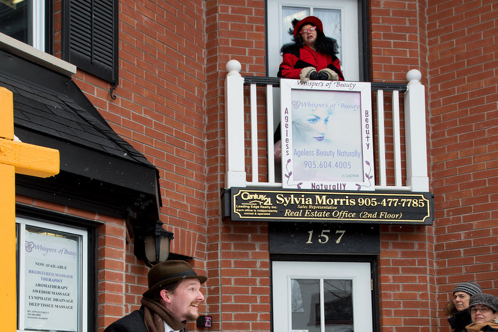 """""""The Markham Tales"""" Production in Downtown Unionville, Ontario"""