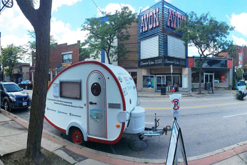 The Tale of a Town Storymobile at Hamilton Ottawa Street