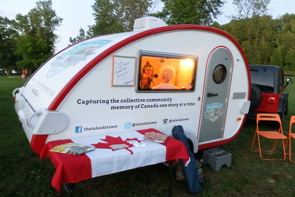 The Tale of a Town Storymobile at the Pakenham Movie Night