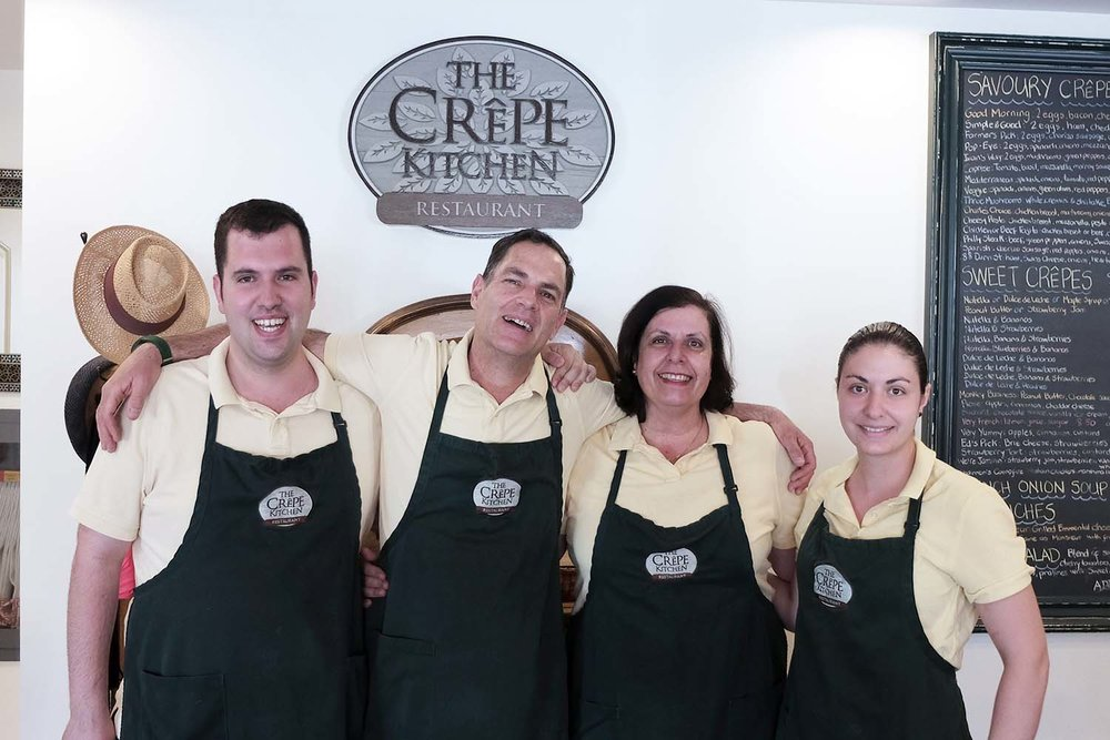 The Tale of a Town Oakville Storygathering Artists Meet the Siles Family at the Crepe Kitchen
