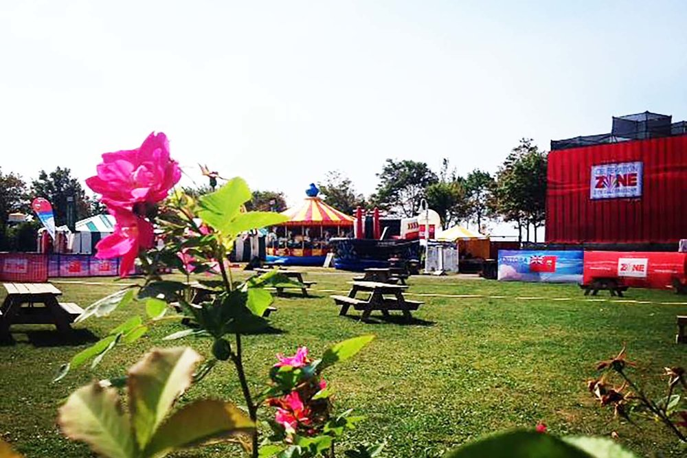 The Tale of a Town at PEI 2014 Celebration Zone's Beautiful Field