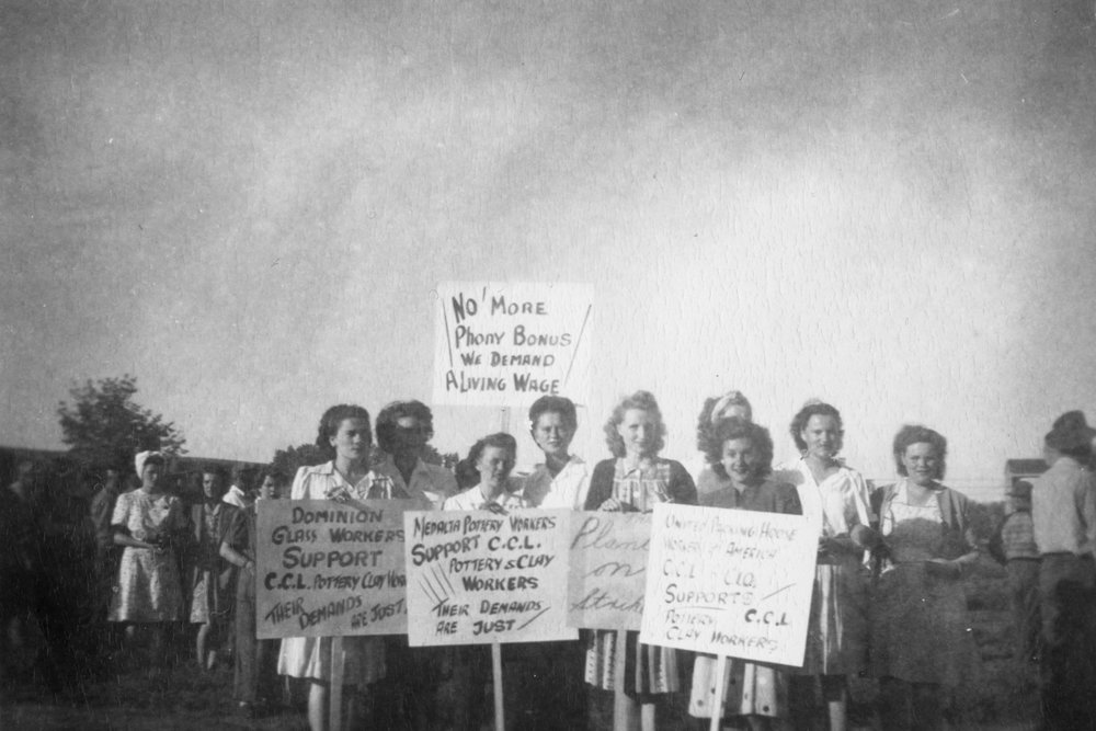 The Historic 1947 Medalta Strike