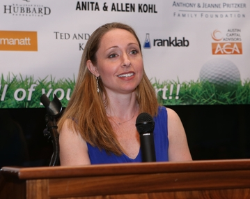 At the 2015 Matthew Silverman Memorial Golf Classic, we honored Active Minds Founder Alison Malmon.  After losing her older brother Brian to suicide in 2000, Mrs. Malmon dedicated   her life to mental health advocacy. In ten years, her non-profit organization has grown into a well recognized entity in the field, led by a committed team of full time staff members under Alison's direction, as well as a Board of Directors, National Advisory Committee and Student Advisory Committee. Featured on   CNN  , in   The New York Times  ,   Chronicle of Higher Education  , and much more, Active Minds has become   the voice   of young adult mental health advocacy nationwide. With more than 400 campus chapters, hundreds of thousands of young adults all across the country are benefiting from the Active Minds model.