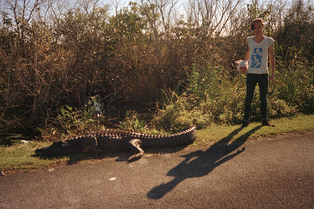 Grandma and I at Everglades Nat'l Park, FL, 2014