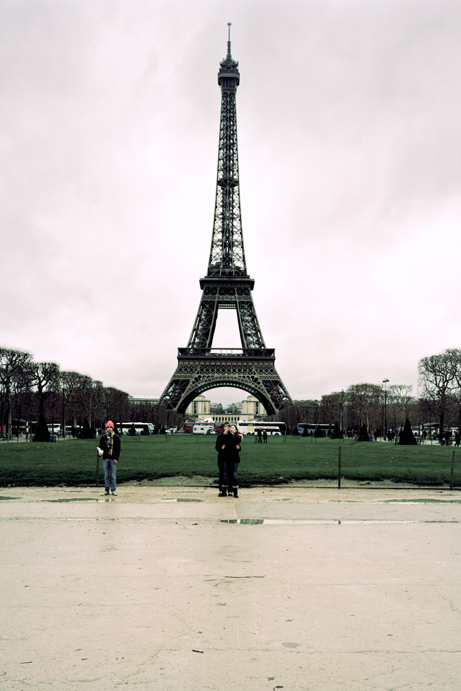 Grandma and I at the Eiffel Tower, 2011