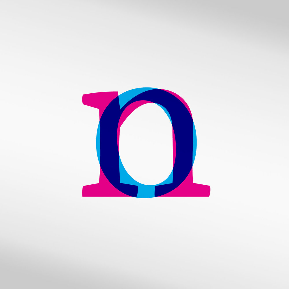 Image 1. It is important that the counters and width of letters appear to be the same relative size.