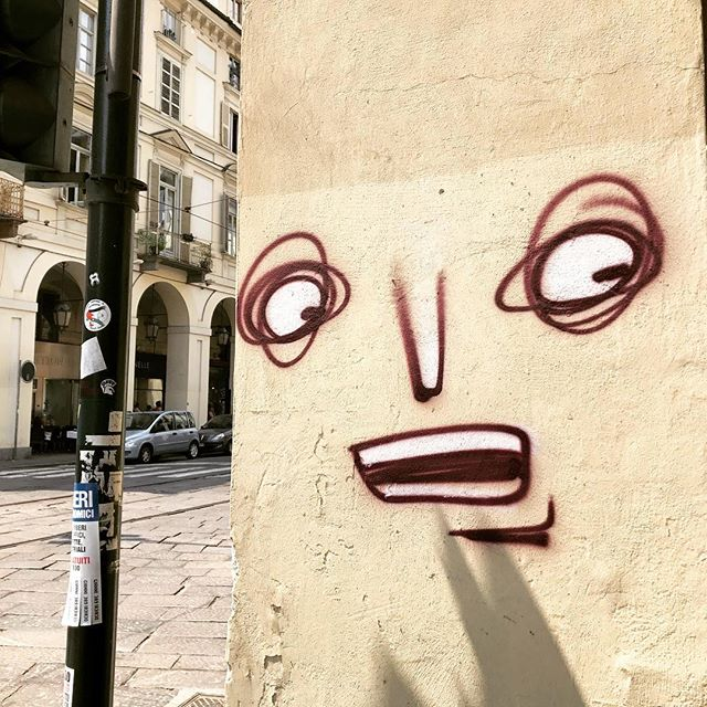 #face #wall #graffiti #turin #matchymatchy #inspirations #streetart #streetinspiration #arteverywhere