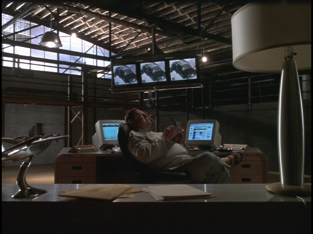 Another view of Deepthroat's (John Goodman) lair.