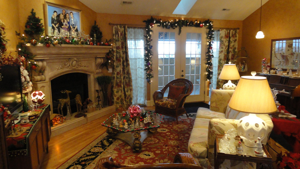Over-the-top Christmas at Grandma and Grandpa's tacky Palm Springs condo.