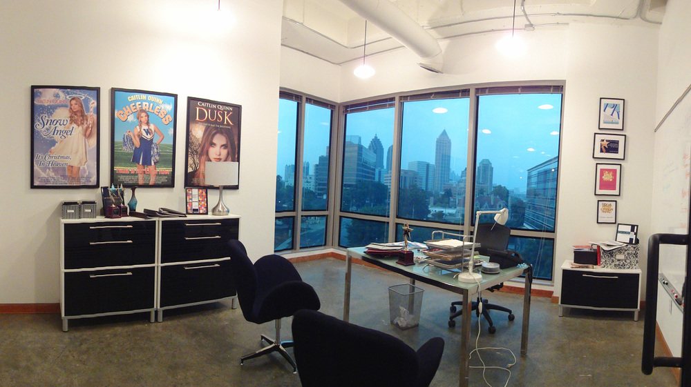 Example of PR firm office.