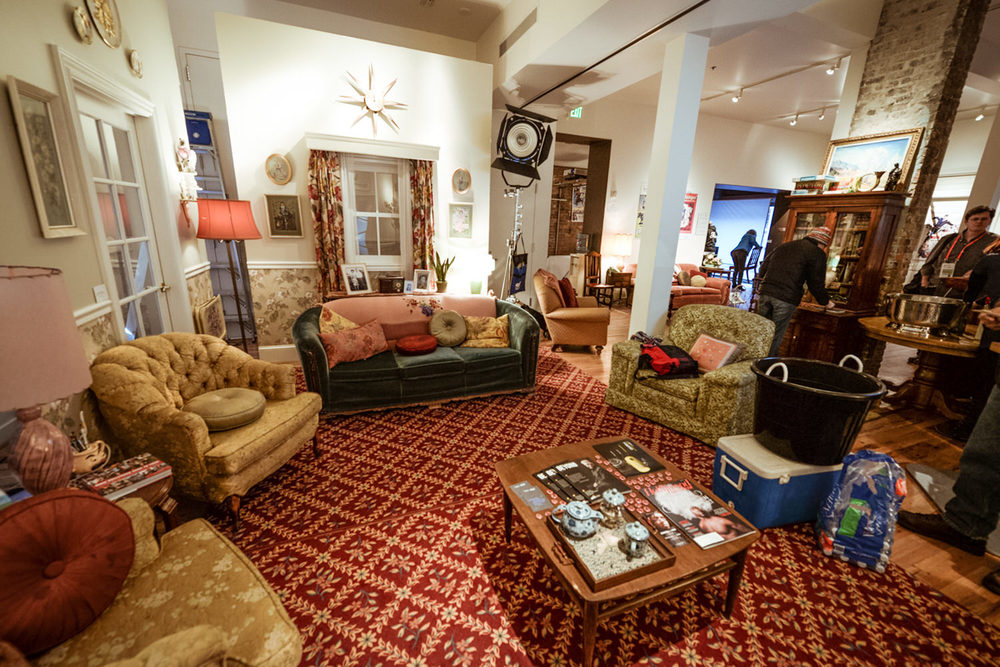 "Another view of the Utah Film Commission's ""Living Room"" at Sundance 2015."