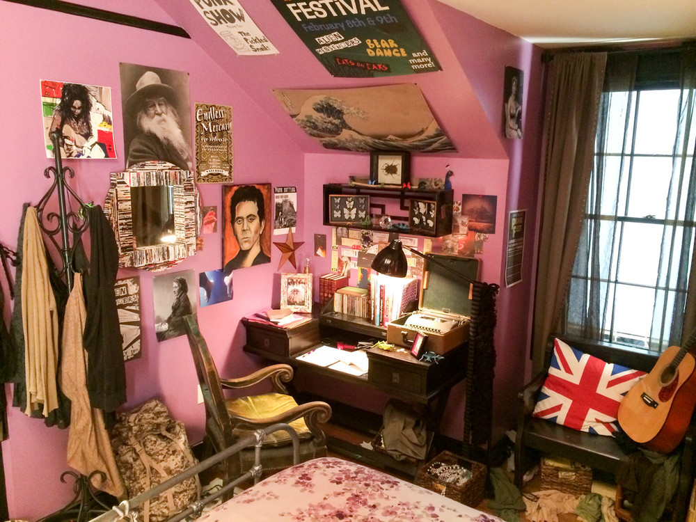Anther view of  Cleo's (Rowan Blanchard) room.