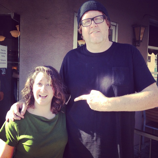 Athena w/Steve Agee in Hollywood, CA